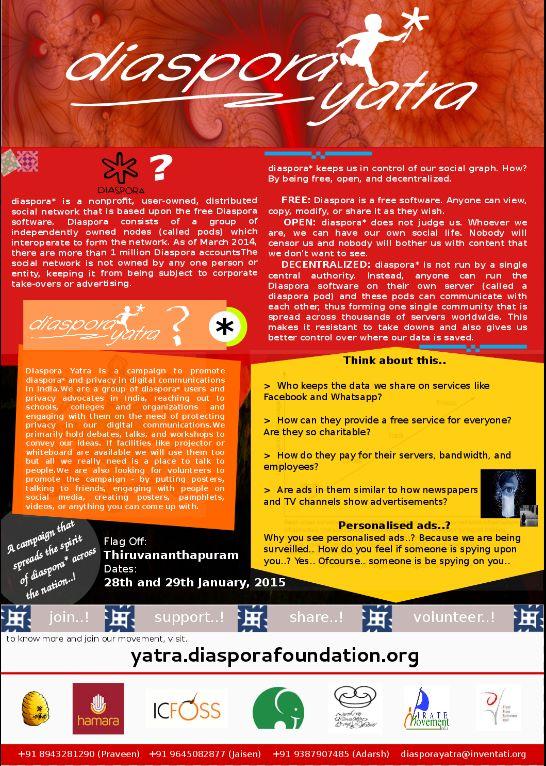 Diaspora Yatra Poster