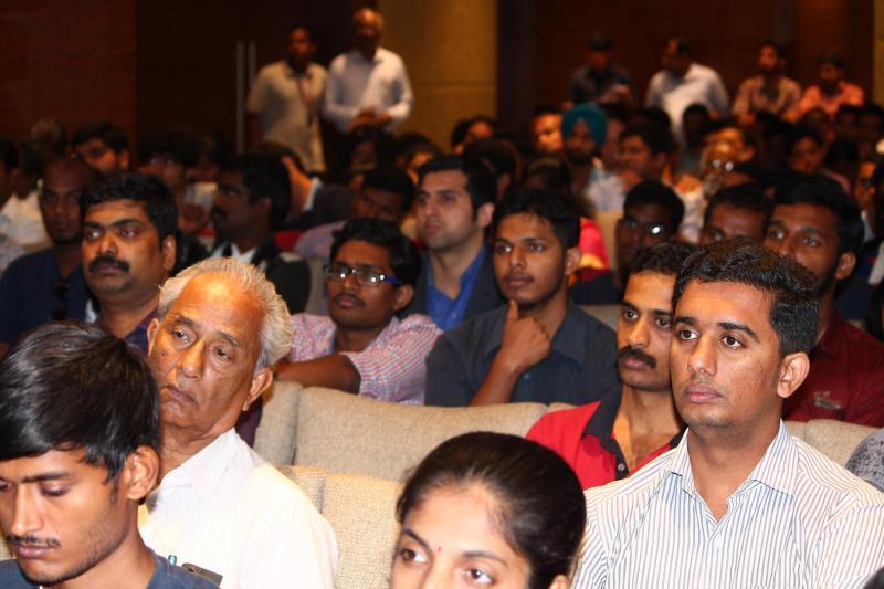 സ്റ്റാള്മാന്റെ പ്രസംഗം കേള്ക്കുന്നവര്  Photo: Syed Shiyas