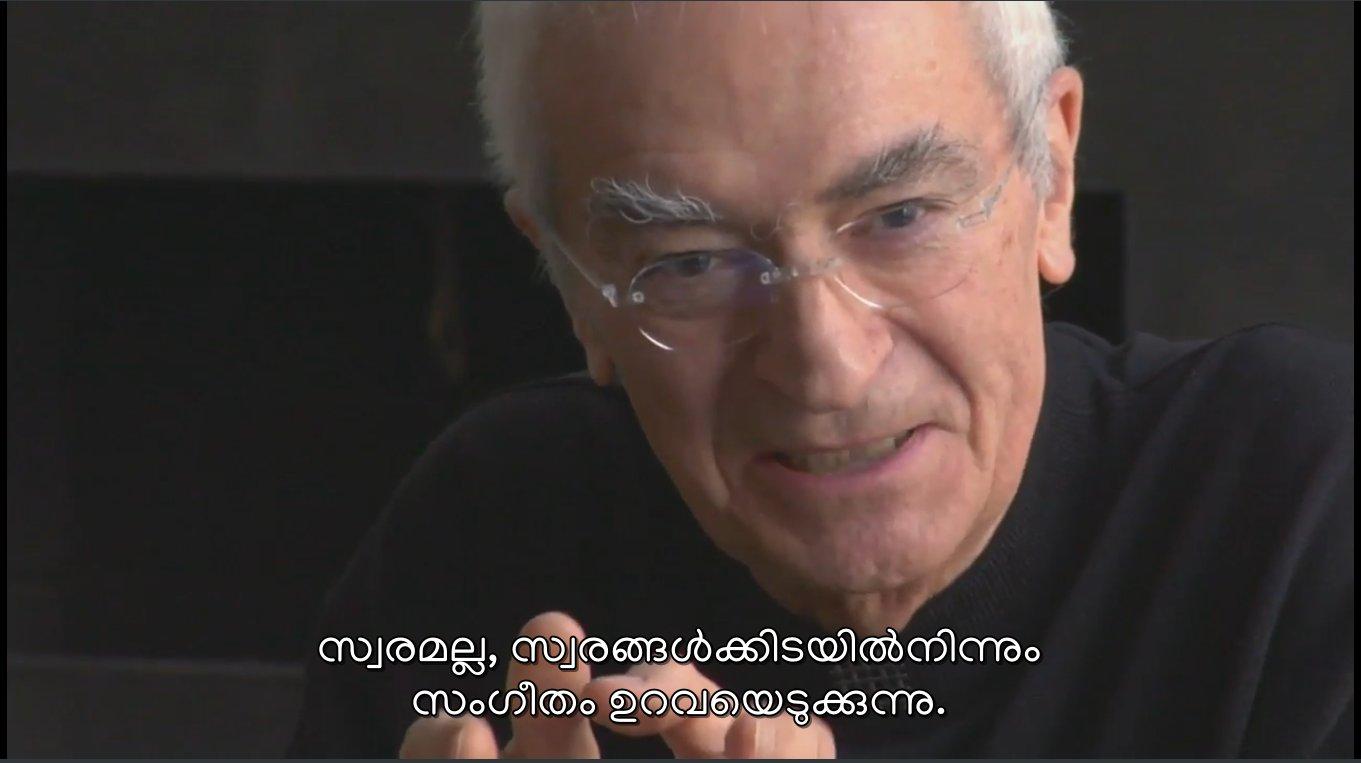 Malayalam rendering in VLC