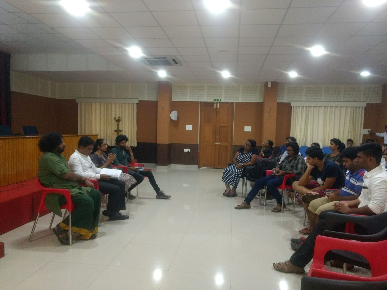 Panel discussion at NUALS Kochi