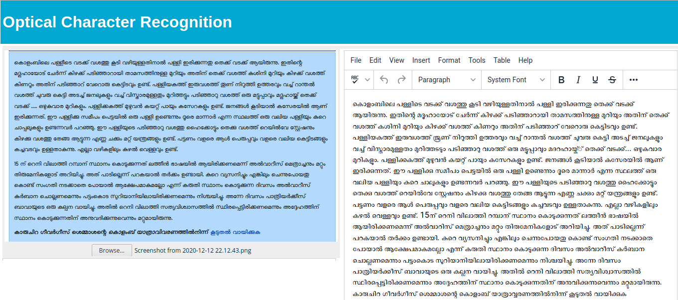 Govt. Stepped Back on 118A, Malayalam OCR, KDE Localization and More: SMC Monthly Report Nov 2020